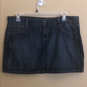 Old Navy Denim Mini Skirt Size 14